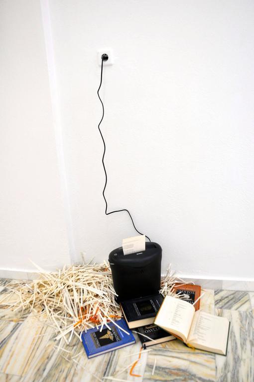 Shredding the Classics - Contemporary Mixed Media Art by Lee Wells