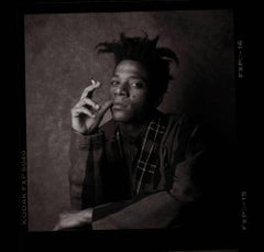 Jean Michel Basquiat, Smoking