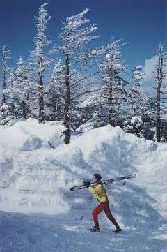 Skier in Vermont (Slim Aarons Estate Edition)