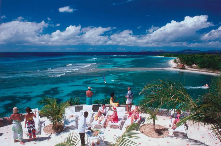 Explore The Beauty Of Caribbean: Tropical Mustique, Photograph: For Sale At