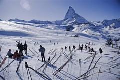 Zermatt Skiers, Switzerland