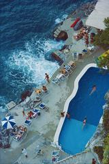 Pool On Amalfi Coast (Slim Aarons Estate Edition)