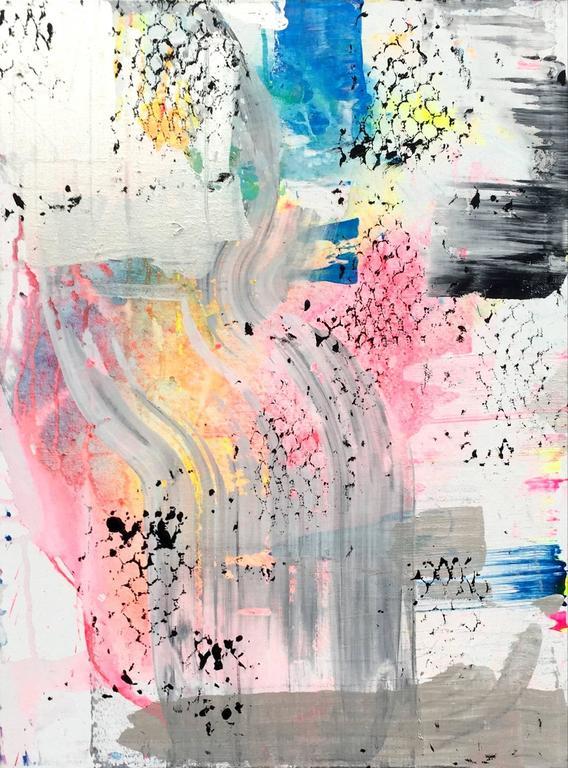 Rusher 1 - Painting by Martin Durazo