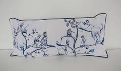 O.T. (blue pillow N.4)