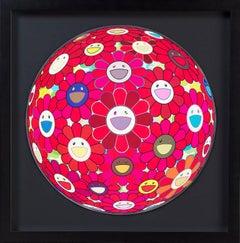 Flower Ball (3-D) Red Cliff