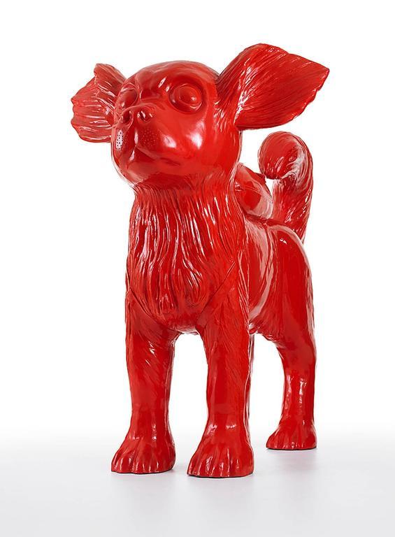 William Sweetlove Figurative Sculpture - Cloned Chihuahua
