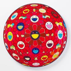 Red Flower Ball (3-D)