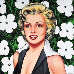 """""""Marilyn Warhol, El Jardin de Hollywood"""""""