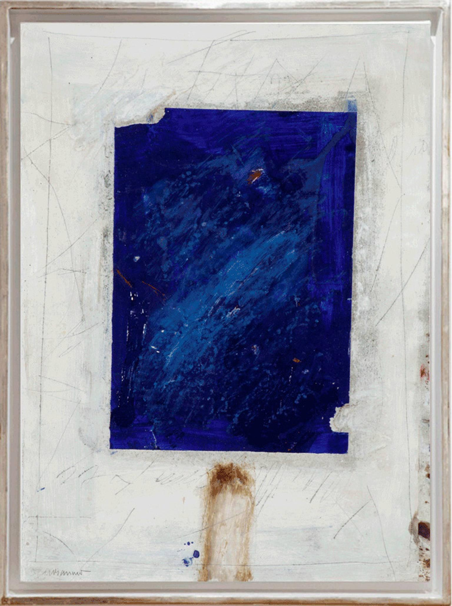 Composition bleu.