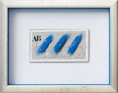 Trois bleus en diagonale.