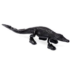 Cloned Alligator with sneakers black