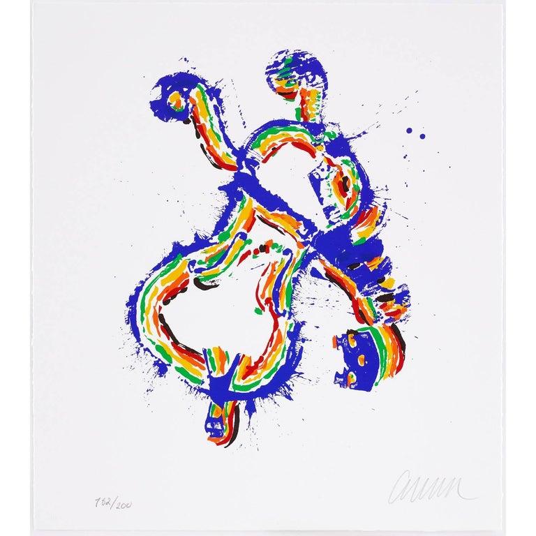 Fiddlemania - Print by Arman