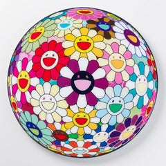 Flower Ball (3D) Sexual Violet no.1