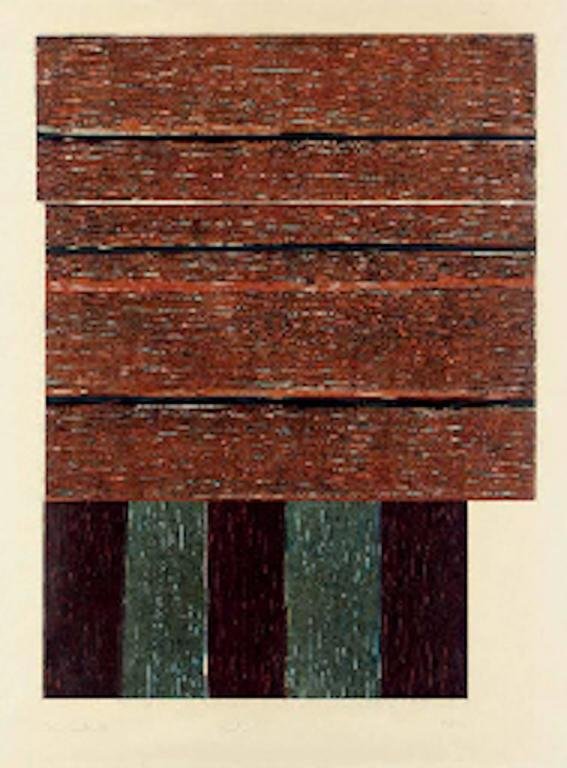 Standing II - Print by Sean Scully