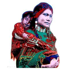 Andy Warhol - Mother and Child (from Cowboys and Indians)