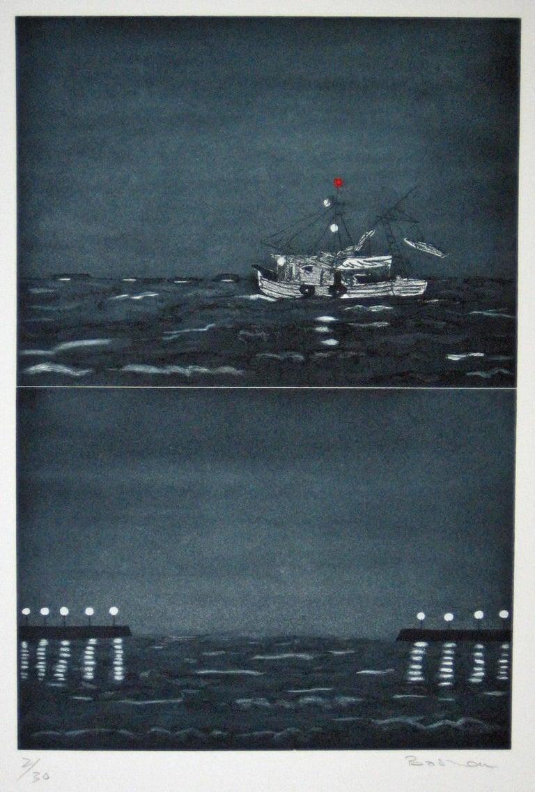 Richard Bosman Landscape Print - Homeward Bound