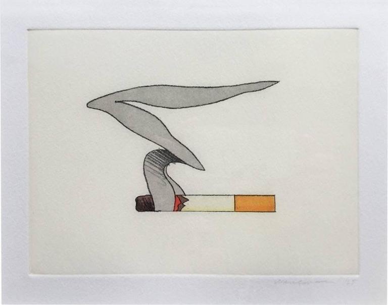 Smoking Cigarette #1