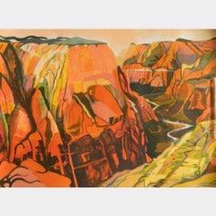 Rock Face/Zion Canyon