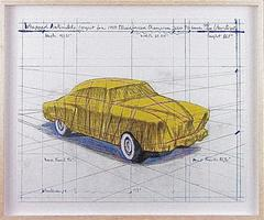 Wrapped Automobile (Project for Studebaker Champion, Series 9 G Coupe)