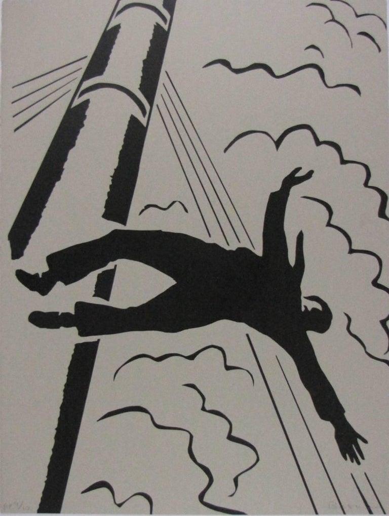 Richard Bosman Figurative Print - Mast