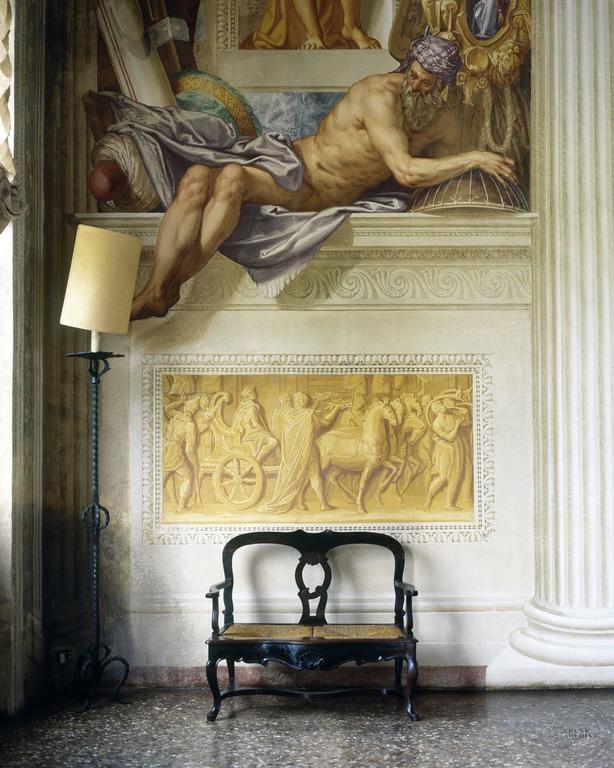 Simon Watson Color Photograph - Interior (Giovanni Battista Zelotti)
