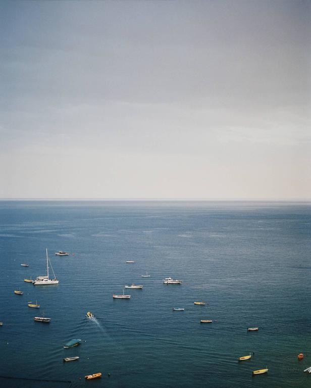 Seascape (Boats in Harbor)