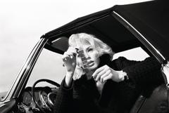 Portrait (Woman in Vintage Car)