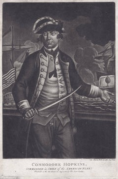 Commodore Hopkins, : Commander in Chief of the American Fleet.
