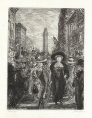 Fifth Avenue, 1909.