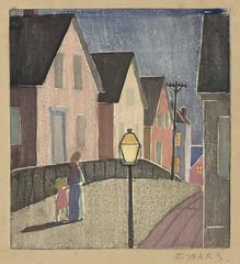 Street Scene, Provincetown.