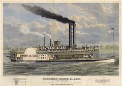 Unknown - Steamer Robt. E. Lee. Captain J. W. Cannon.