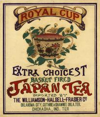 Royal Cup, Extra Choicest, Basket Fired, Japan Tea