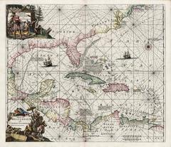 Indiarum Occidentalium Tractus Littorales cum Insulis Caribicis / Pascaert van W