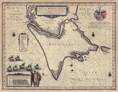 Tabula Magellanica, qua Tierra del fuego, cum celeberrimis fretis a F. Magellano