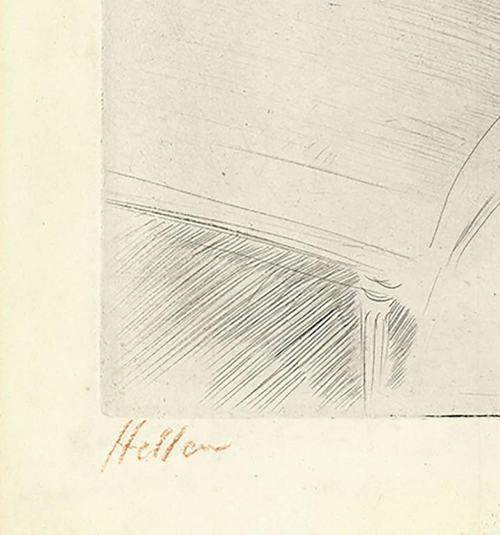 Mme. Helleu by the Fireplace - Print by Paul César Helleu