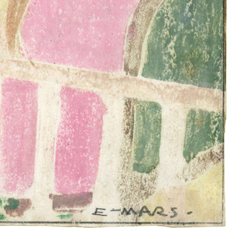 In the Garden - Print by Ethel Mars
