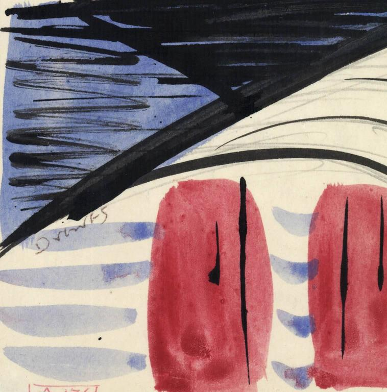 Untitled. Forms. - Art by Werner Drewes