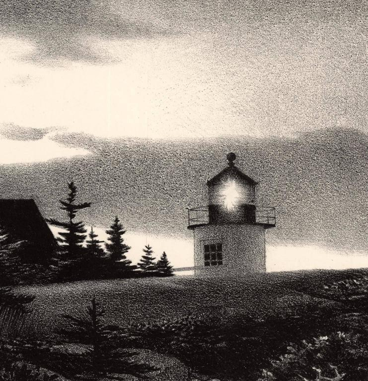 Stow Wengenroth Evening Quiet Print For Sale At 1stdibs