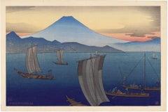 Miono-Matsubara: Mount Fuji at Sunset