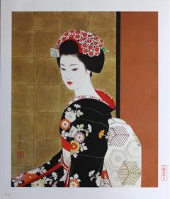 Apprentice Japanese Geisha (Maiko)