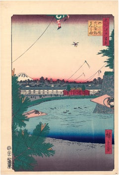Hibiya and Soto-Sakurada from Yamashita-chô from 100 Views of Edo