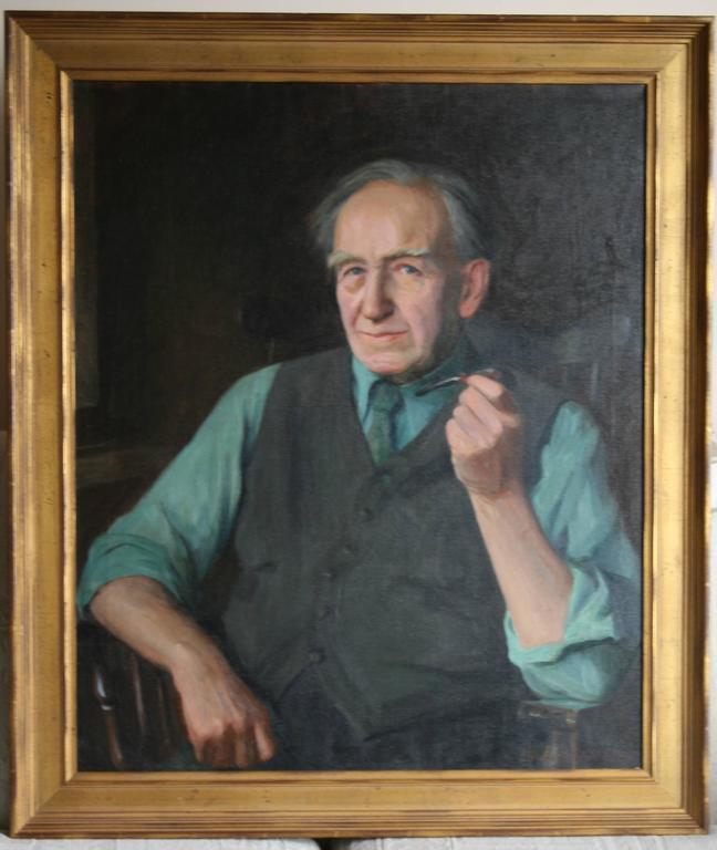 Portrait of Eugene Higgins, Age 80. 7