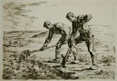 Les Bêcheurs (The Diggers).