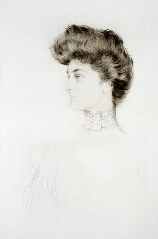 Paul César Helleu - Alexandra of Denmark, Queen of England. 1