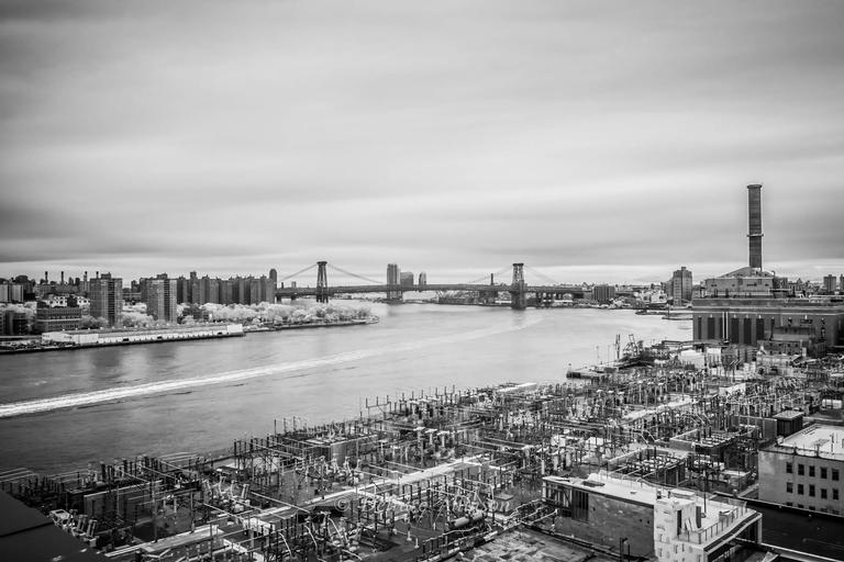 Deirdre Allinson Black and White Photograph - Industrial Elegance