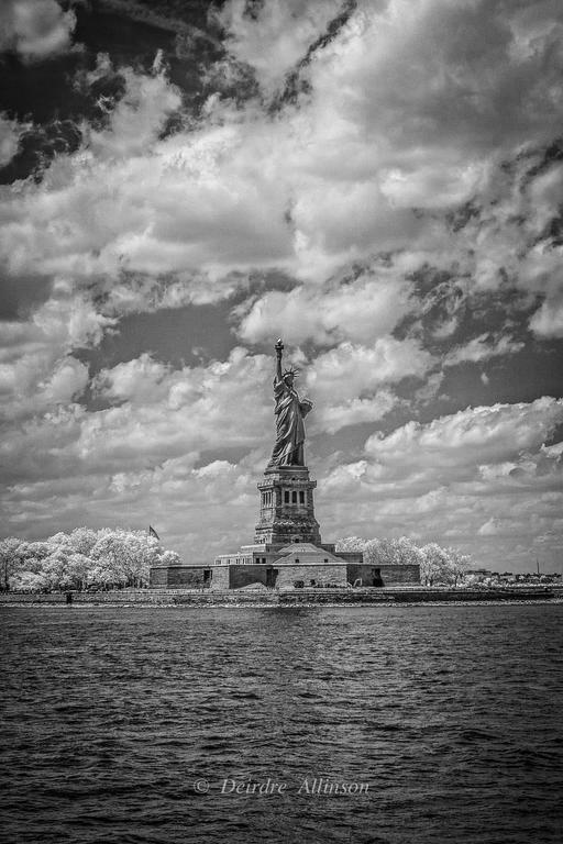 Deirdre Allinson Black and White Photograph - Lady Liberty