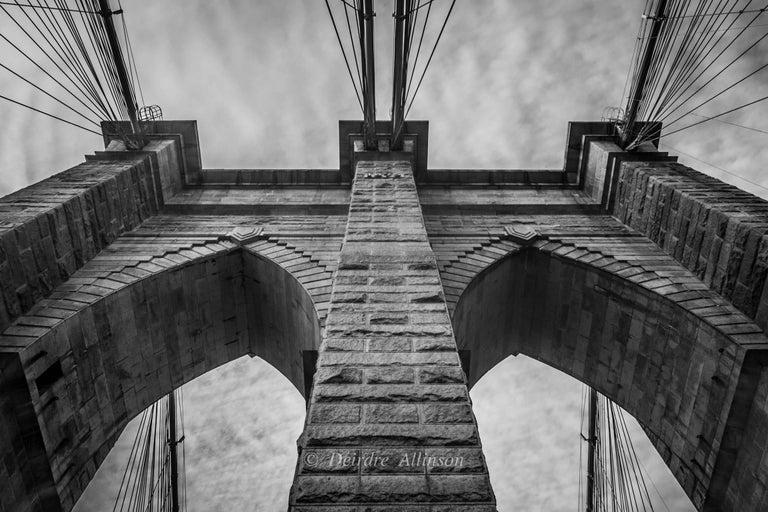 Deirdre Allinson Black and White Photograph - Unexpected Symmetry