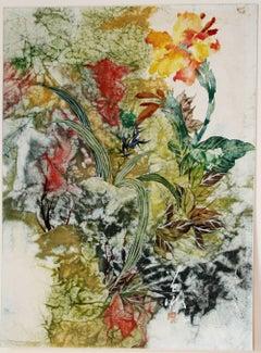 Spring: Iris and Tradescantia