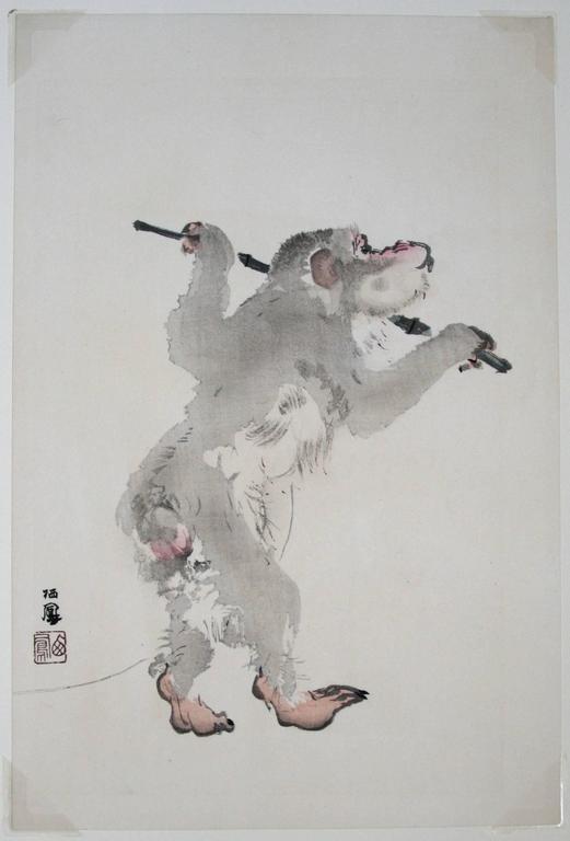 [Monkey Business]. - Print by Takeuchi Seiho