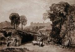 Sheep Washing, Windsor (Windsor Castle from Salt Hill)